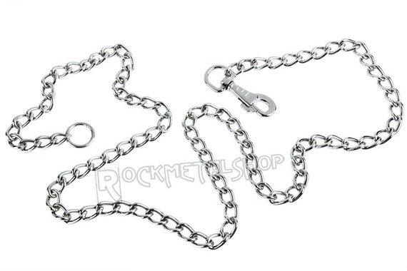 gruby łańcuch do kluczy/portfela (150 cm) z karabińczykiem NR 1