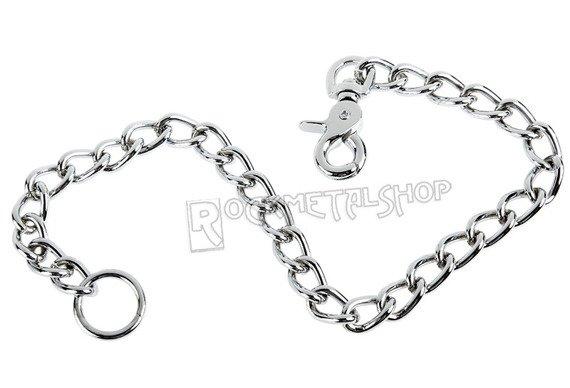 gruby łańcuch do kluczy/portfela (50 cm) z karabińczykiem NR 2