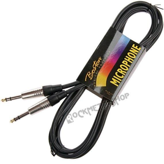kabel instrumentalny BOSTON 6m JACK prosty/prosty 6,3mm STEREO