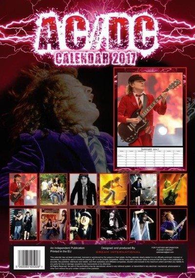 kalendarz AC/DC 2017