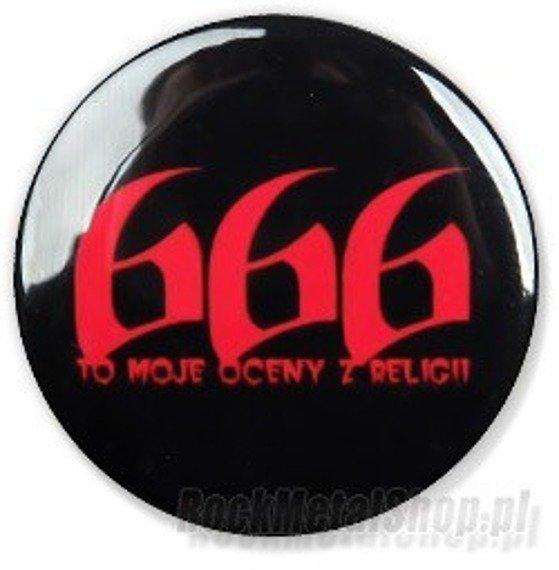 kapsel 666 TO MOJE OCENY Z RELIGII Ø25mm
