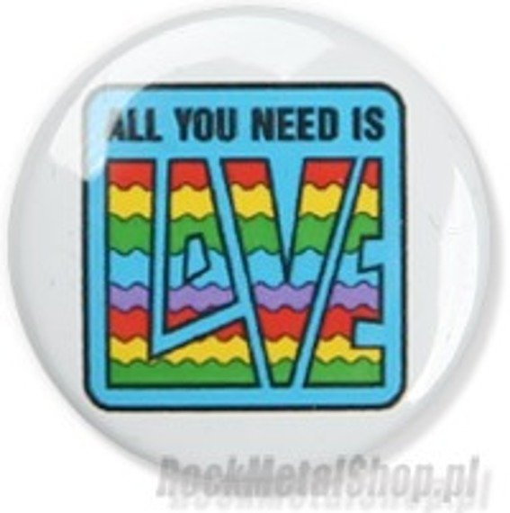 kapsel ALL YOU NEED IS LOVE Ø25mm