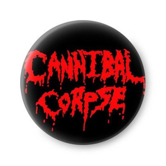 kapsel CANNIBAL CORPSE - RED LOGO