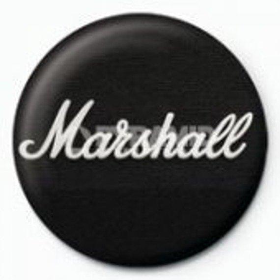 kapsel MARSHALL - - BLACK LOGO