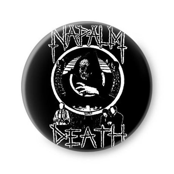 kapsel NAPALM DEATH - LOGO