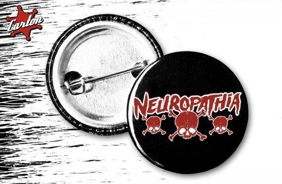 kapsel NEUROPATHIA - LOGO CZASZKI czarny
