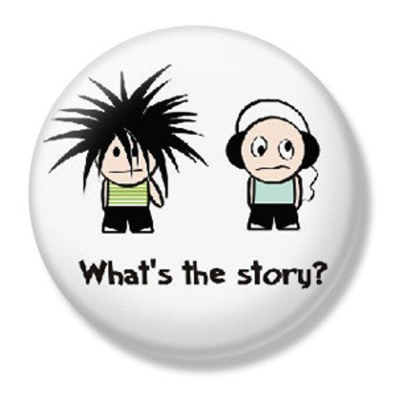 kapsel  WHAT'S THE STORY? średni