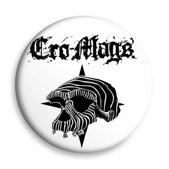 kapsel biały CRO-MAGS - SKULL