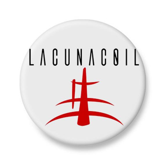 kapsel biały LACUNA COIL - SIGN