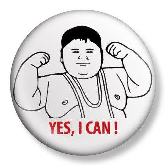 kapsel średni YES, I CAN! Ø38mm