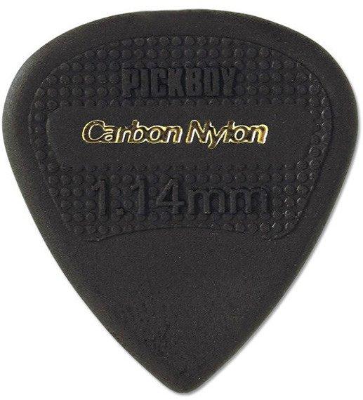 kostka gitarowa PICKBOY EDGE, SHARP TIP Carbon Nylon 1,14mm