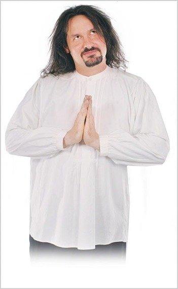 koszula GOTYCKA biała (56036)