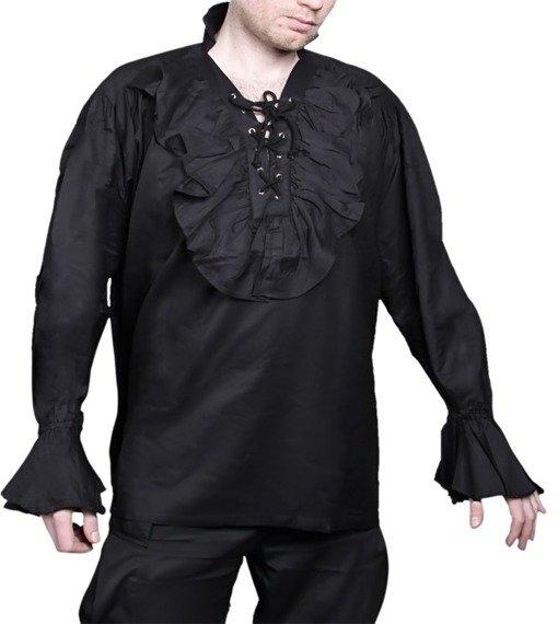 koszula GOTYCKA czarna (58529)