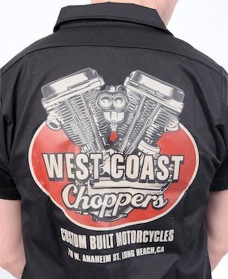 koszula WEST COAST CHOPPERS - PANHEAD (WCCWS101)