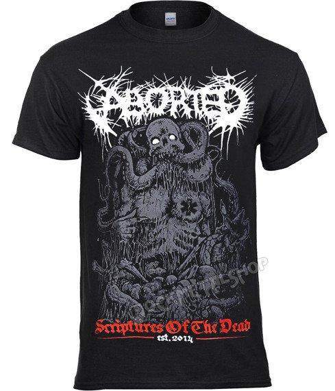 koszulka ABORTED - SCRIPTURES OF THE DEAD