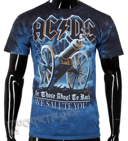 koszulka AC/DC - 21 GUN SALUTE, barwiona
