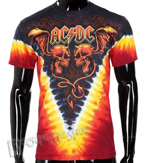 koszulka AC/DC - EVIL WINGS, barwiona