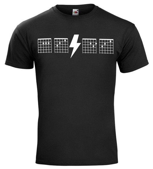 koszulka AC/DC - GUITAR CHORDS