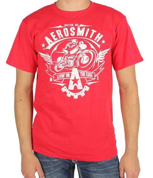 koszulka AEROSMITH - LIVIN ON THE EDGE