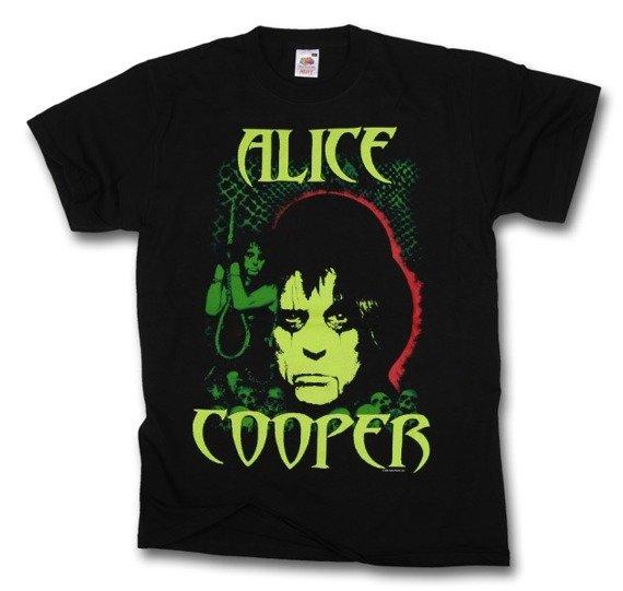 koszulka ALICE COOPER - GLOW FACE
