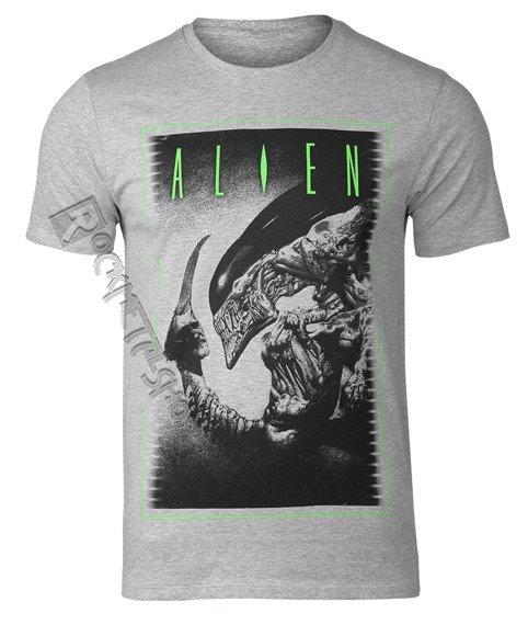 koszulka ALIEN - TO BE OR NOT szary melanż
