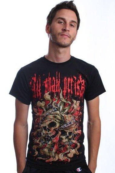 koszulka ALL SHALL PERISH - SKULLS