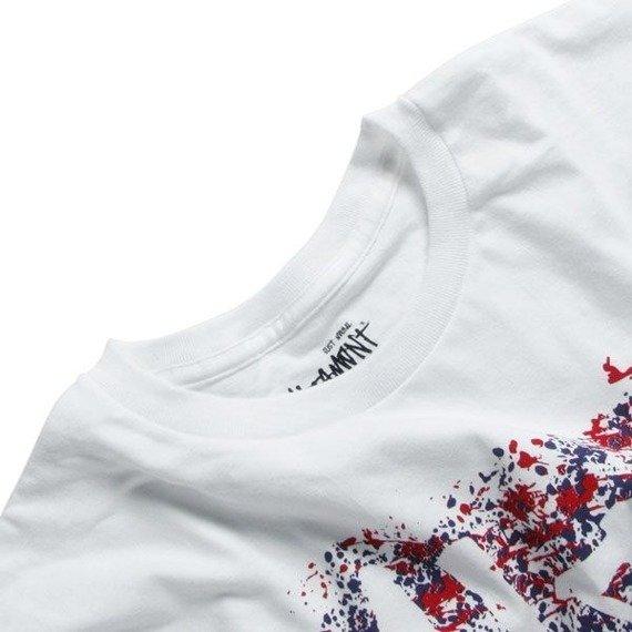 koszulka ALTAMONT - SPLATTERED (WHITE)