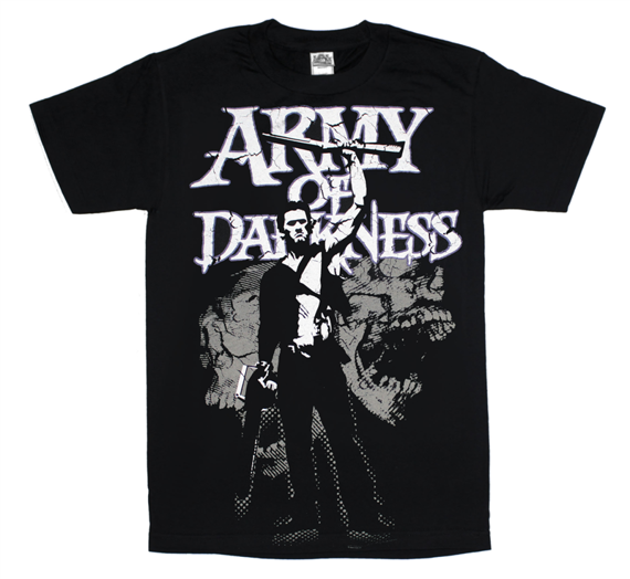 koszulka ARMY OF DARKNESS - DISTRESSED SKULLS