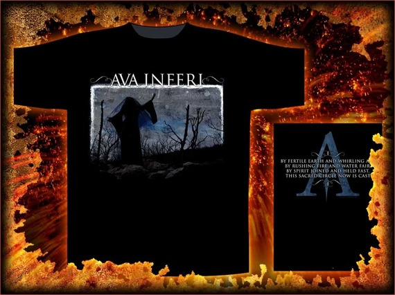 koszulka AVA INFERI - SACRED CIRCLE