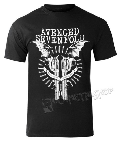 koszulka AVENGED SEVENFOLD - BLACK BAT GUNS