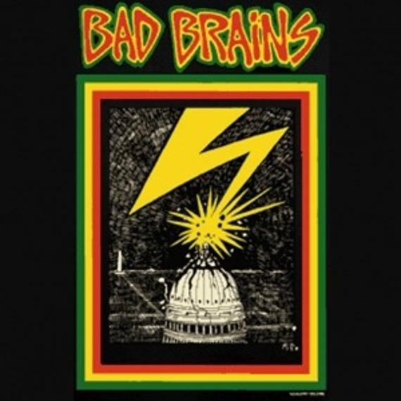 koszulka BAD BRAINS - CAPITAL BLACK