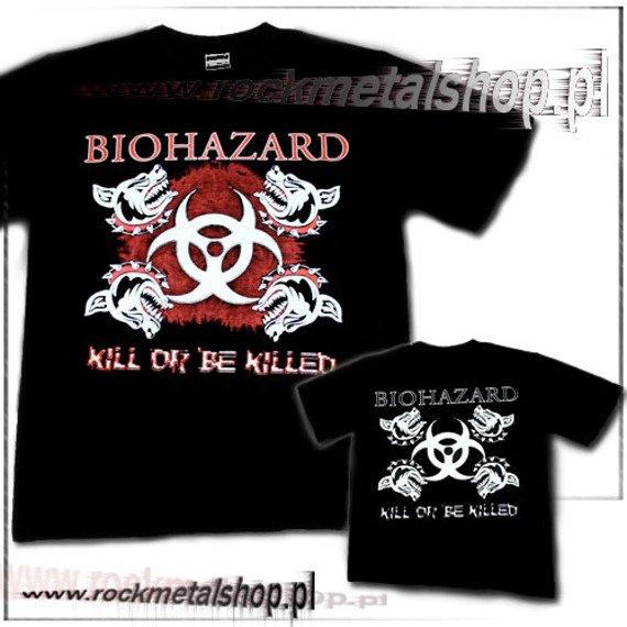 koszulka BIOHAZARD - KILL OR BE KILLED