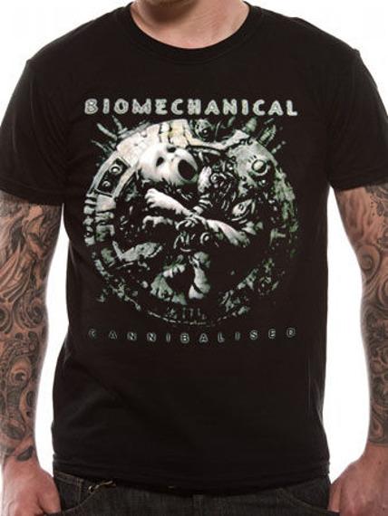 koszulka BIOMECHANICAL - CANNIBALISED