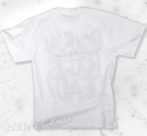 koszulka BLACK ICON - ROCK'N'ROLL IS DEAD white (MICON107WHT)