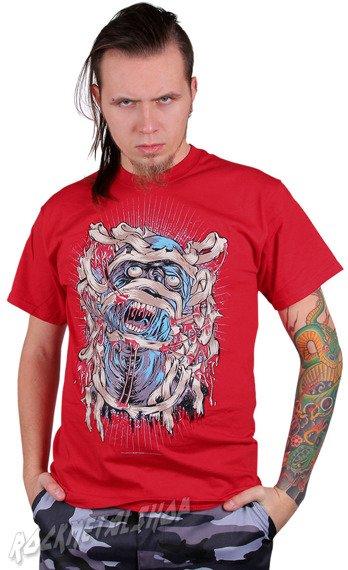koszulka BLACK ICON - SCREAM OF THE MUMMY czerwona (MICON046RED)