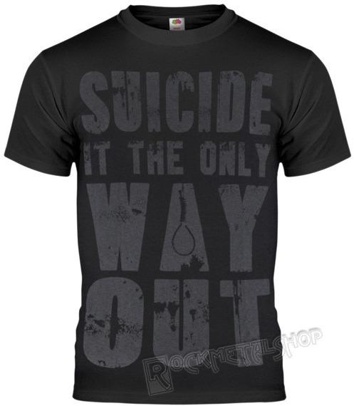 koszulka BLACK ICON - SUICIDE (MICON148 BLACK)
