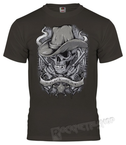 koszulka BLACK ICON - THE COVBOY (MICON100 DARK GREY)