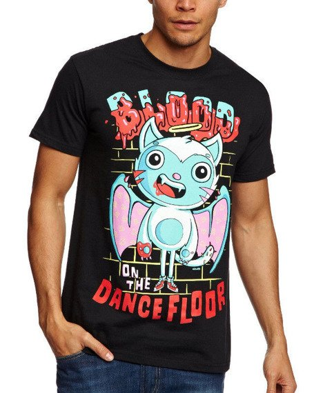 koszulka BLOOD ON THE DANCE FLOOR - ANGEL CAT