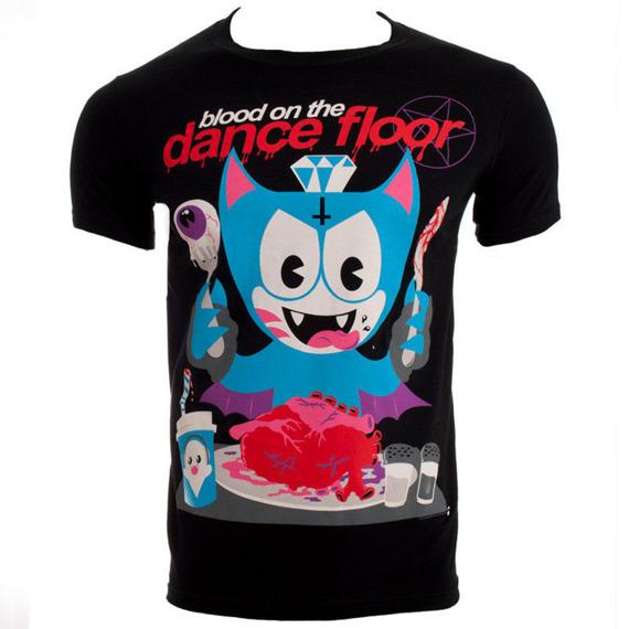 koszulka BLOOD ON THE DANCE FLOOR - LET'S EAT