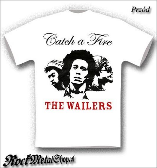 koszulka BOB MARLEY & THE WAILERS - CATCH THE FIRE
