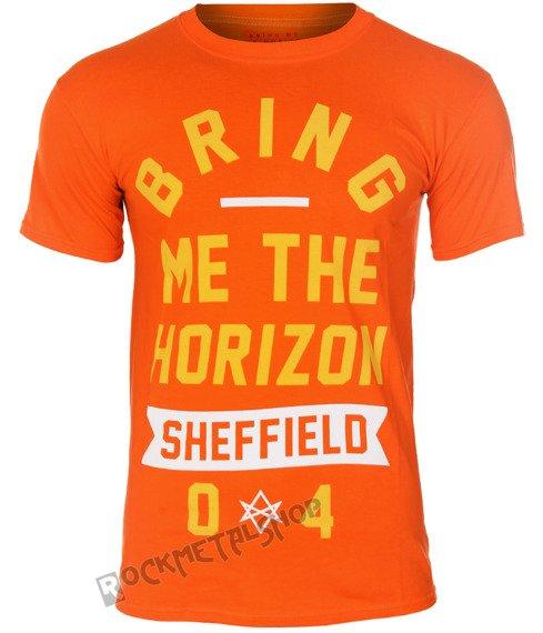 koszulka BRING ME THE HORIZON - BIG TEXT ORANGE