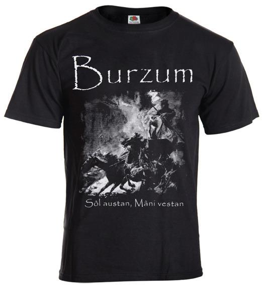 koszulka BURZUM - SOL AUSTAN, MANI VESTAN