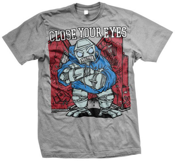 koszulka CLOSE YOUR EYES - 90 s HARDCORE