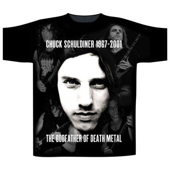 koszulka DEATH - CHUCK SCHULDINER