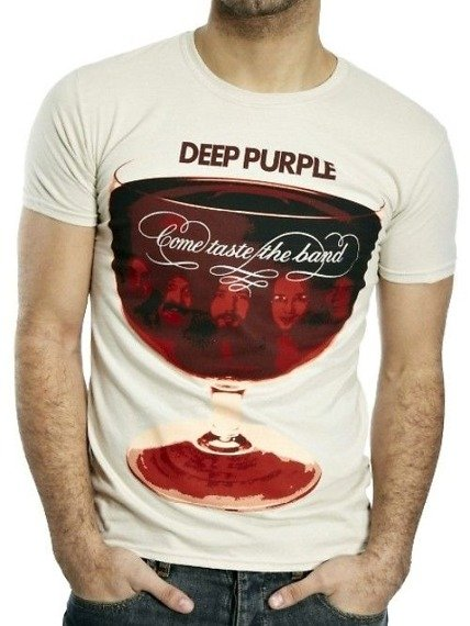 koszulka DEEP PURPLE - COME TASTE THE BAND
