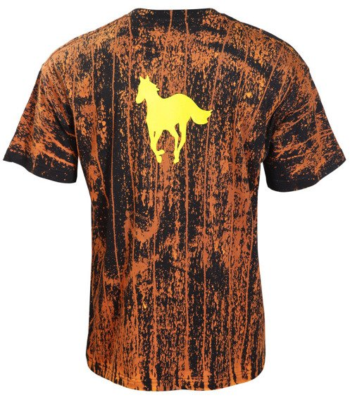 koszulka DEFTONES - LOGO barwiona