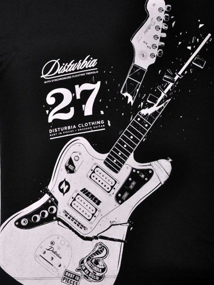 koszulka DISTURBIA - R.I.P.