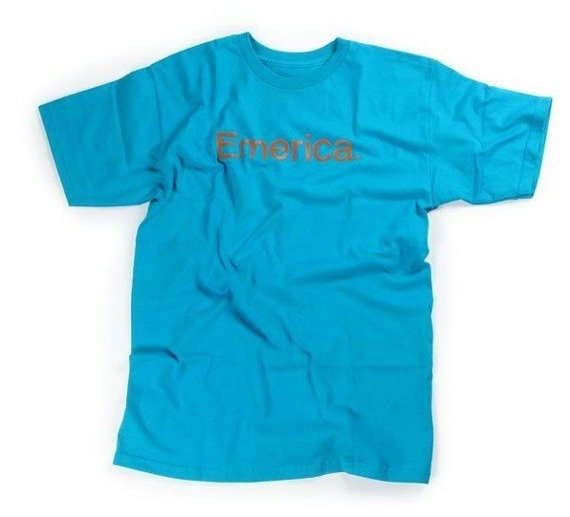 koszulka EMERICA - PURE (TURQUOISE) 10'