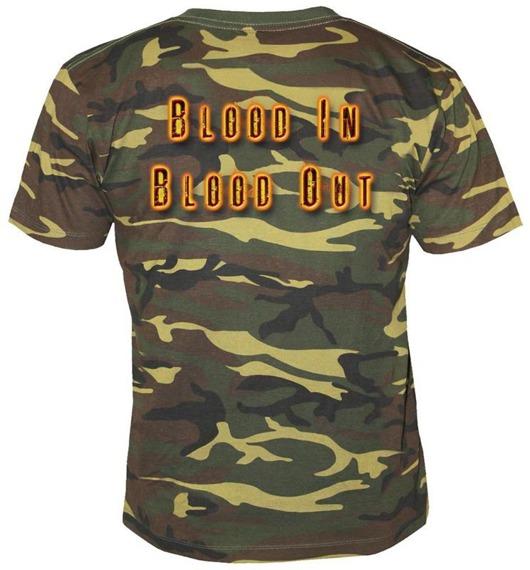 koszulka EXODUS - BLOOD IN BLOOD CAMOUFLAGE