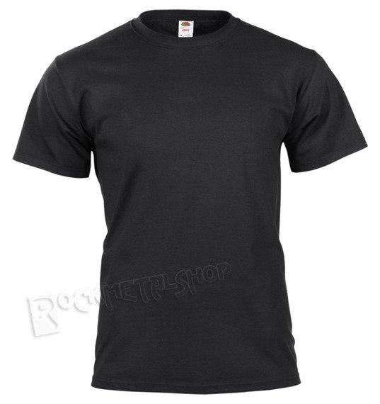 koszulka FRUIT OF THE LOOM BLACK bez nadruku